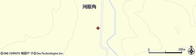 山形県西置賜郡小国町河原角213周辺の地図