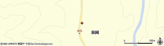 山形県西置賜郡小国町泉岡141周辺の地図