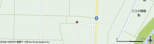 山形県東置賜郡川西町尾長島491周辺の地図