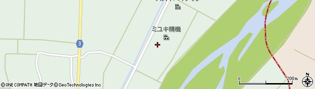 山形県東置賜郡川西町尾長島740周辺の地図