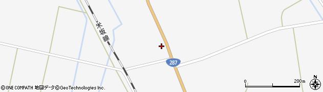 山形県東置賜郡川西町時田841周辺の地図