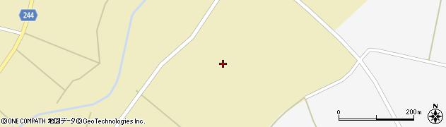 山形県東置賜郡川西町下奥田高野周辺の地図