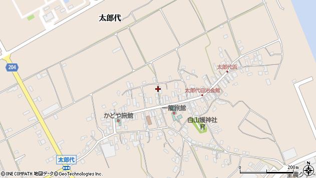 〒950-3101 新潟県新潟市北区太郎代の地図