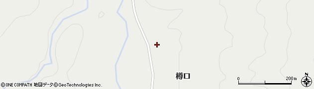 山形県西置賜郡小国町樽口周辺の地図