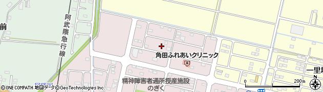 宮城県角田市角田豊町周辺の地図