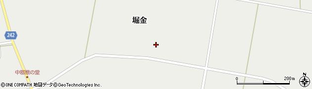 山形県東置賜郡川西町堀金1509周辺の地図