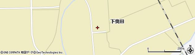 山形県東置賜郡川西町下奥田1366周辺の地図