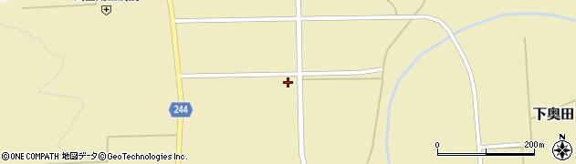 山形県東置賜郡川西町下奥田1088周辺の地図