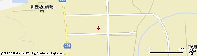 山形県東置賜郡川西町下奥田八幡原周辺の地図