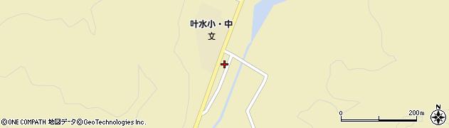 山形県西置賜郡小国町叶水305周辺の地図