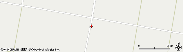 山形県東置賜郡川西町堀金仲周辺の地図