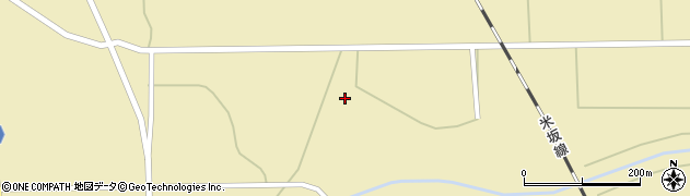 山形県東置賜郡川西町下奥田696周辺の地図