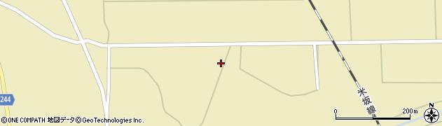 山形県東置賜郡川西町下奥田762周辺の地図
