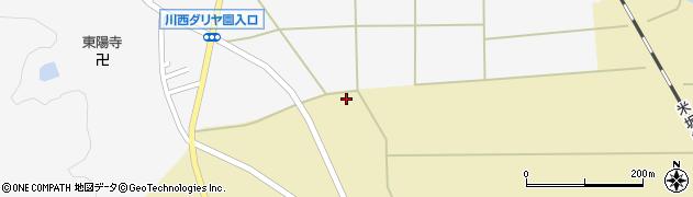 山形県東置賜郡川西町下奥田883周辺の地図