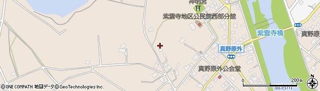 新潟県新発田市真野原外周辺の地図