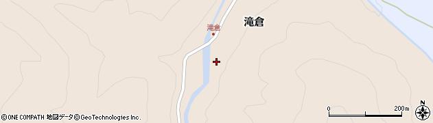 山形県西置賜郡小国町滝倉30周辺の地図