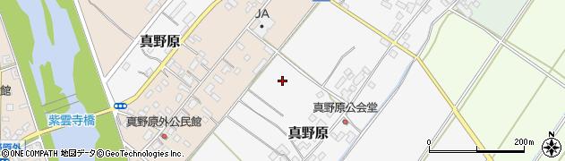 新潟県新発田市真野原周辺の地図