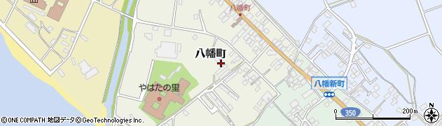新潟県佐渡市八幡町周辺の地図