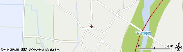山形県東置賜郡川西町下平柳352周辺の地図