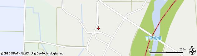 山形県東置賜郡川西町下平柳357周辺の地図