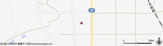 山形県東置賜郡川西町上小松2635周辺の地図