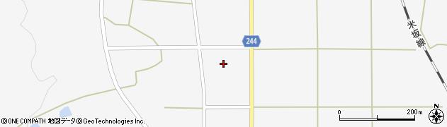 山形県東置賜郡川西町上小松2614周辺の地図