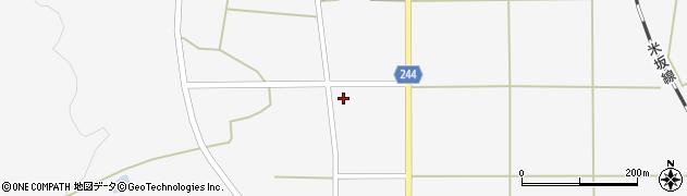 山形県東置賜郡川西町上小松2618周辺の地図