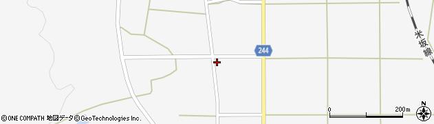 山形県東置賜郡川西町上小松2620周辺の地図