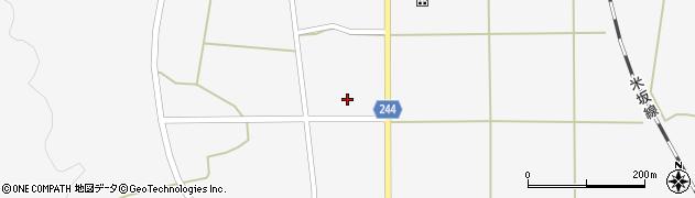 山形県東置賜郡川西町上小松2607周辺の地図