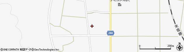 山形県東置賜郡川西町上小松2601周辺の地図