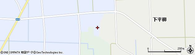 山形県東置賜郡川西町下平柳203周辺の地図