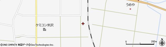 山形県東置賜郡川西町上小松2337周辺の地図