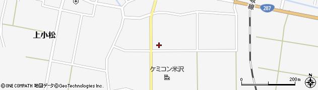 山形県東置賜郡川西町上小松2477周辺の地図