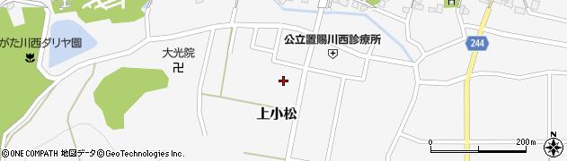 山形県東置賜郡川西町上小松5640周辺の地図