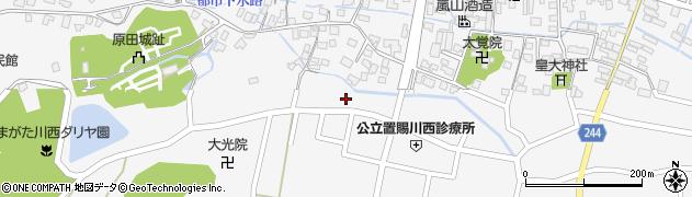 山形県東置賜郡川西町上小松3029周辺の地図