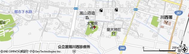 太覚院周辺の地図