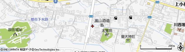 山形県東置賜郡川西町上小松3162周辺の地図