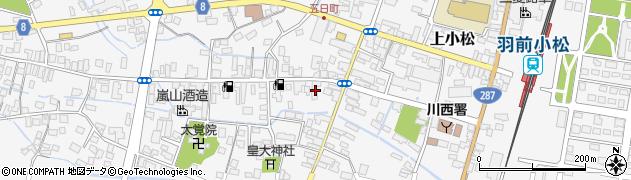 山形県東置賜郡川西町上小松坂ノ上周辺の地図