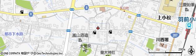 山形県東置賜郡川西町上小松3423周辺の地図