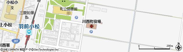 山形県川西町(東置賜郡)周辺の地図