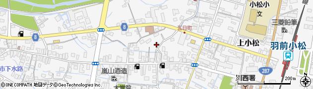 山形県東置賜郡川西町上小松3425周辺の地図