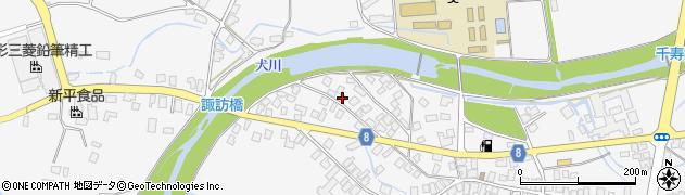 山形県東置賜郡川西町上小松3333周辺の地図