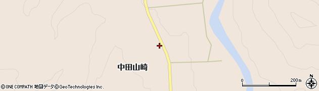 山形県西置賜郡小国町中田山崎88周辺の地図