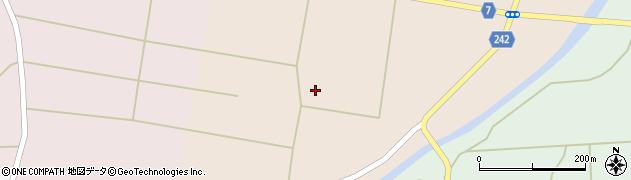 山形県東置賜郡川西町黒川上黒川周辺の地図