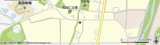 山形県東置賜郡川西町下小松千松寺周辺の地図