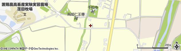山形県東置賜郡川西町下小松2464周辺の地図