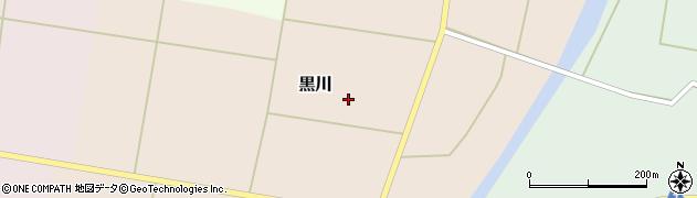 山形県東置賜郡川西町黒川607周辺の地図