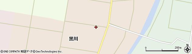 山形県東置賜郡川西町黒川593周辺の地図