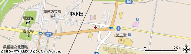 山形県東置賜郡川西町中小松2507周辺の地図