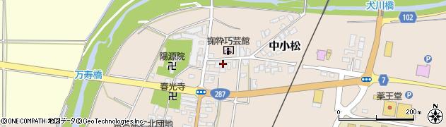 山形県東置賜郡川西町中小松2468周辺の地図